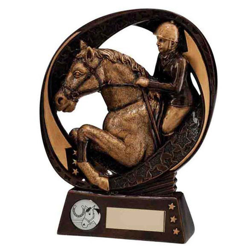 Typhoon Equestrian horse riding jumping dressage trophy