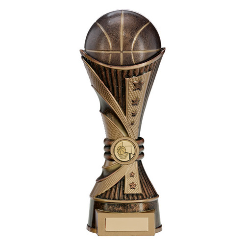 Stunning basketball All Star Series design gold and bronze in 2 sizes