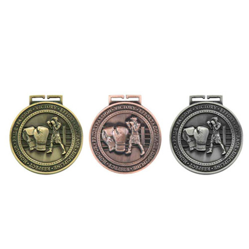 """Olympia Boxing Sport 70mm (2.75"""") 3D Medals"""