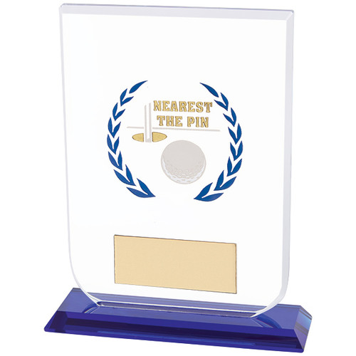 Gladiator Nearest The Pin Golf premium glass award