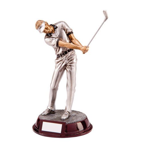 Augusta male golf figure award excellent prices from 1st Place 4 Trophies