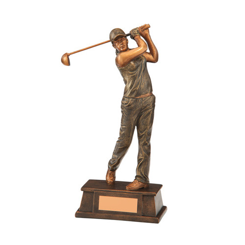 Classical female swinging golf award cheap prices and available in 3 sizes