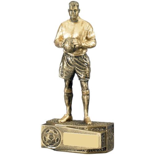Gold figure goalkeeper goalkeeping award trophy FREE Engraving LOW price 1stPlace4Trophies