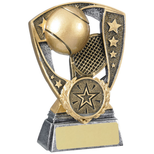 Shield Tennis Award Budget Price, 2 sizes from 1st Place 4 Trophies