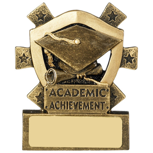 Star Shield Academic Achievement Budget mini Award. For school, university, college. RM633