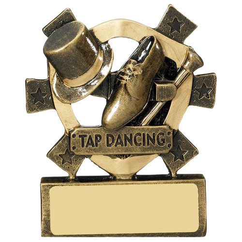 Tap Dancing Budget Award includes FREE Engraving