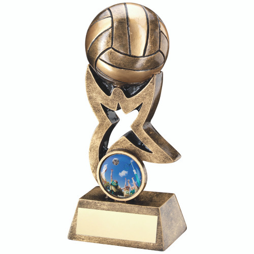 FREE personalised engraving and standard logo for this super Netball Star Award