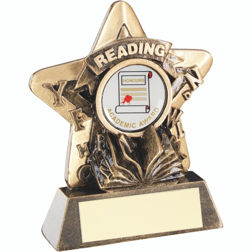 School, pre-school or primary Reading Award that includes FREE engraving.
