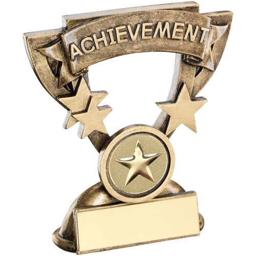 """Resin Achievement school or activity award that includes FREE engraving. 1"""" centre."""