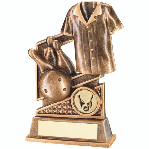 Ten Pin Bowling Award available in 2 sizes and includes FREE engraving.