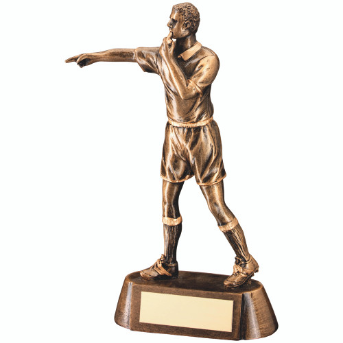 Gaelic Football referee award. This trophy includes FREE engraving.