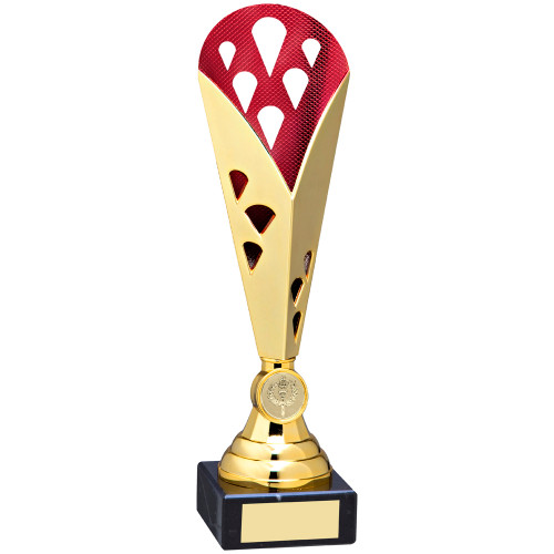 This stunning multisport trophy cup is available in 5 fabulous sizes to suit the desired budget. All with FREE engraving too!