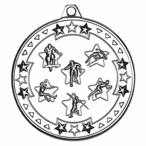 50mm silver Athletics medal