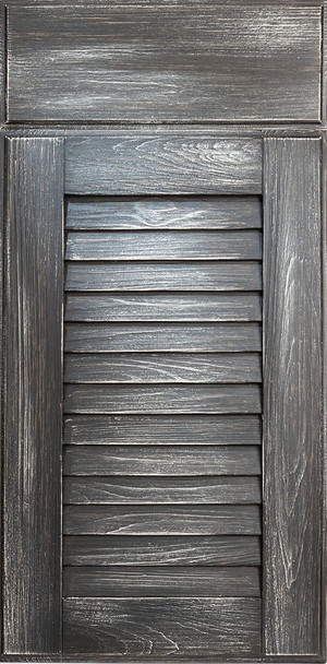 NatureKast- Louver Weathered Charcoal